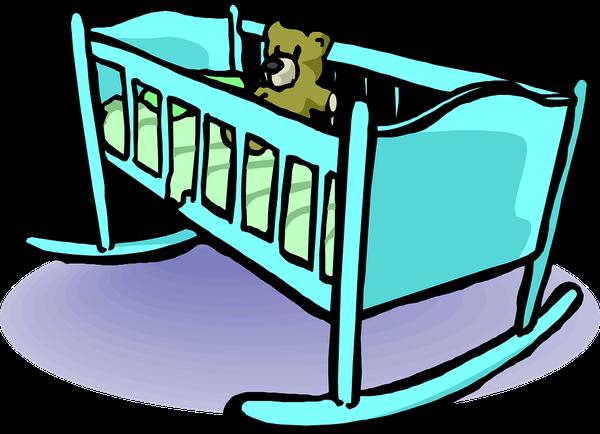 Przyborniki na łóżeczko w różnych wzorach
