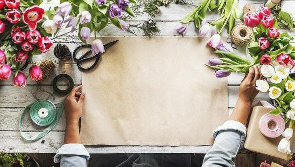 Wizyta starszego pana w kwiaciarni