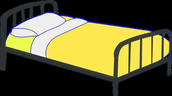 Nefryt ukryty w łóżku do masażu