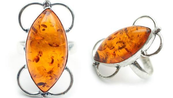 Najlepsze ceny pierścionków z bursztynem