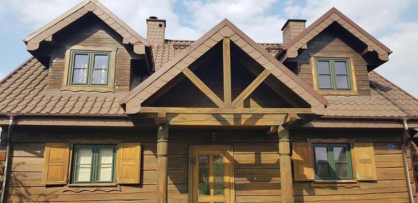 domki z drewna poznań