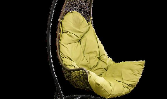 Wygodny fotel ogrodowy