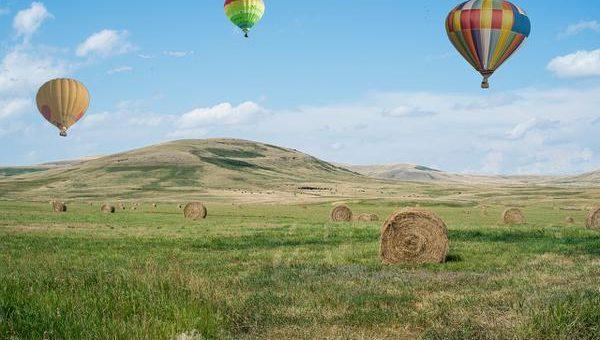 Tanie loty balonem na Mazurach